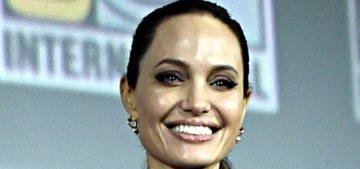 Angelina Jolie came out for Marvel's big Comic Con presentation