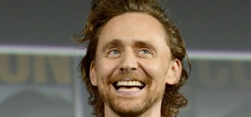 Tom Hiddleston was also looking gingery & hot at the Comic Con Marvel panel