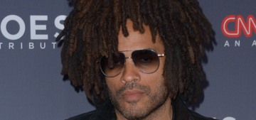 Lenny Kravitz is 'best friends' with Lisa Bonet, and Jason Momoa is 'like a brother to me'
