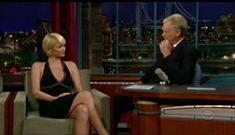 David Letterman was hard on Paris Hilton *tear*