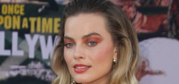 Margot Robbie in Chanel at the 'OUATIH' LA premiere: Valley of the Dolls?