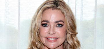 Denise Richards's dad told her that her daughter's obstinance was a good thing
