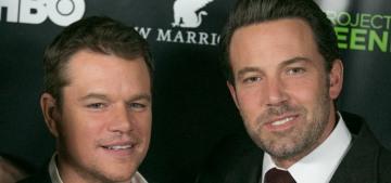 Matt Damon & Ben Affleck's new movie sounds absolutely horrendous