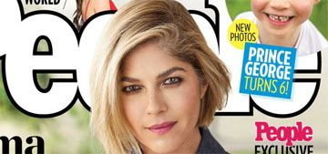 Selma Blair covers People, her son says 'Mommy's not sick. Mommy's brave'