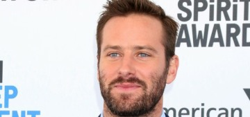 Armie Hammer posted a video of his 2-year-old son putting his dad's toes in his mouth