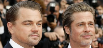 Brad Pitt compares the end-of-era Manson murders to the Weinstein situation