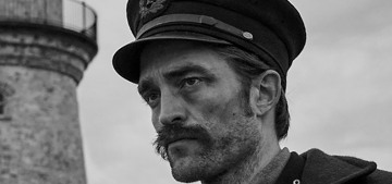 """""""Robert Pattinson's mustache is slightly distracting in 'The Lighthouse'"""" links"""