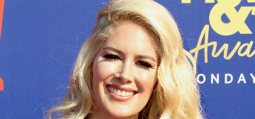 Heidi Montag wants a Christian music career and it's her son's fault