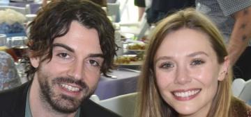 Elizabeth Olsen is engaged to Robbie Arnett, her boyfriend of about three years