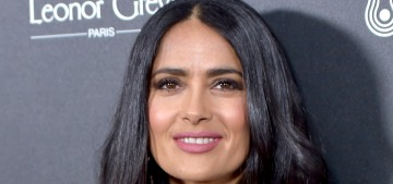 Salma Hayek 'completely shocked' to be chosen for Duchess Meg's Vogue cover