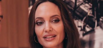 Angelina Jolie's new ad for Mon Guerlain's Intense perfume is amazeballs