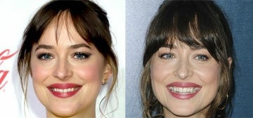 Dakota Johnson 'fixed' the small gap in her front teeth, now she doesn't have good luck
