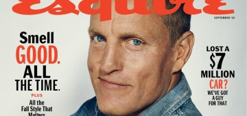 Woody Harrelson started getting high after two years sober because of Willie Nelson