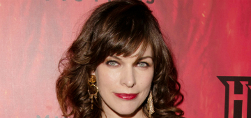 Milla Jovovich is expecting her third daughter with husband Paul W. S. Anderson