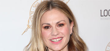 Anna Paquin: 'I had a massive anorexia relapse after my babes were born'