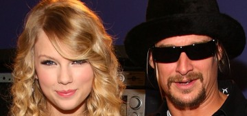 Fake redneck/poseur Kid Rock has some sexist things to say about Taylor Swift