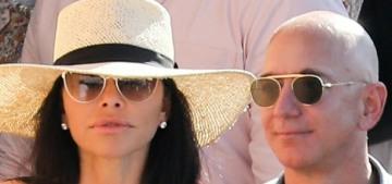 Jeff Bezos & Lauren Sanchez's Hot Girl Summer involves octopus shorts & a yacht