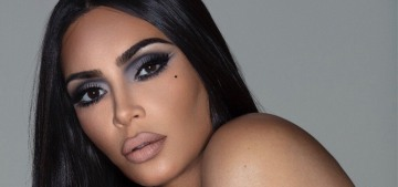 Did Kim Kardashian update her face for the Fall '19 season, or is it just makeup?