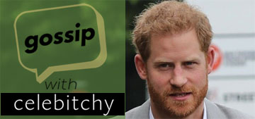 'Gossip With Celebitchy' podcast #25: Prince Harry called less of a man for getting pedicures