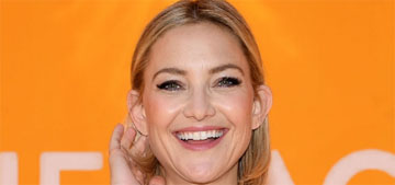 Kate Hudson: 40 is a great age, a phase where you've actually earned some wisdom