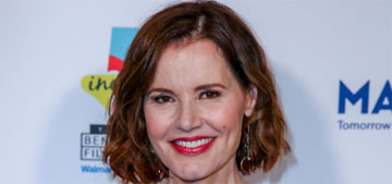 Geena Davis: A director once had me sit on his lap for an audition