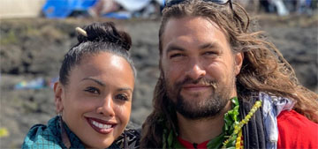 Jason Momoa is bringing attention to the construction still happening on Mauna Kea