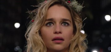 'Last Christmas' starring Emilia Clarke & Henry Golding has its first cute trailer