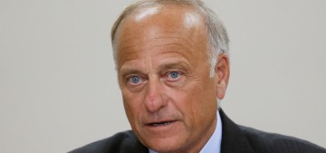Rep. Steve King: There wouldn't be people left if we stopped rape & incest