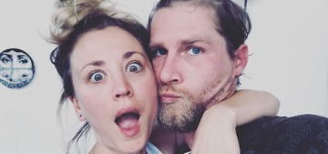 Kaley Cuoco & Karl Cook still don't live together after 13 months of marriage