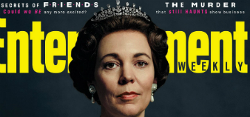 Olivia Colman: 'Everyone loves Claire Foy, so I have the worst job at the moment'