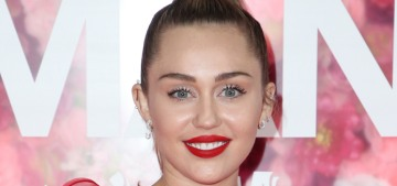 Miley Cyrus rushed out a song so we would know the breakup with Liam's fault