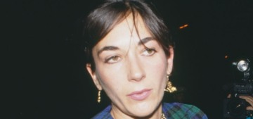 Human trafficker Ghislaine Maxwell photographed at an In-and-Out in LA