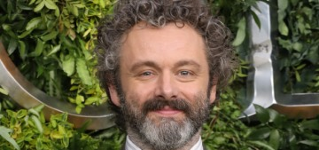 Michael Sheen wants us to know he was single before he met Anna Lundberg