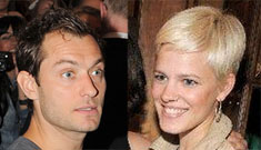 Star: Jude Law's baby-mama is Rachel McAdams' sister