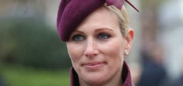 Zara Tindall would be 'horrified' if her daughters came home with a tattoo