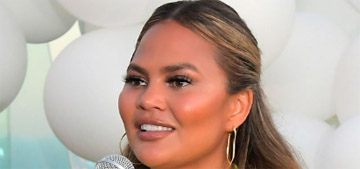 Chrissy Teigen's lips blew up and were 'hard like glass' due to altitude sickness