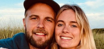 Cressida Bonas is engaged to her boyfriend of two years, Harry (Wentworth-Stanley)