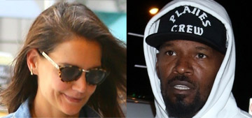 Katie Holmes and Jamie Foxx broke up in May after six years together