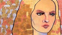 Johnny Depp painted his girlfriend Vanessa Paradis' album cover