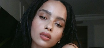 Zoe Kravitz's done with contouring, 'sculpting' faces: 'It makes everyone look the same'