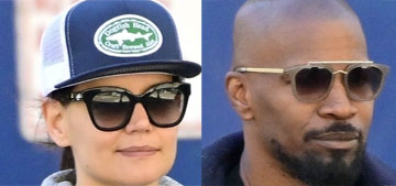 Us: Katie Holmes was disrespected by Jamie Foxx, who cheated on her for years