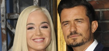 Orlando Bloom & Katy Perry walk the carpet for his new Prime show 'Carnival Row'