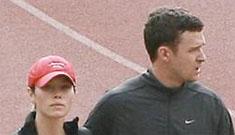 Jessica Biel's superior athleticism mortifies poor Justin Timberlake