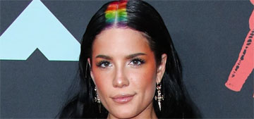 Halsey had rainbow roots and wore Dundas Couture to the VMAs: predictable?