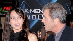 "Mel Gibson's girlfriend mocks his baldness, says he needs ""more implants"""