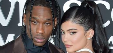 Kylie Jenner & Travis Scott brought Stormi to the premiere of his Netflix documentary