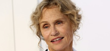 Lauren Hutton, 75, has beauty tips: 'Don't give up sex' & 'use a lot of coconut oil'