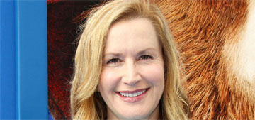 Angela Kinsey on letting her cats sleep in the bed: 'There's no choice'