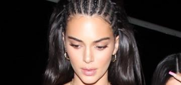 Kendall Jenner slammed for wearing culture-vulture cornrows in LA