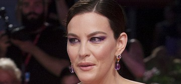 Liv Tyler in Givenchy at the Venice 'Ad Astra' premiere: lovely or cheap?